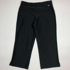 Nike Women's Workout Yoga Pants Size M Gray SI20